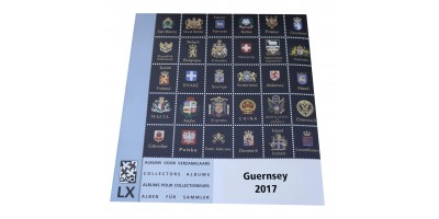 Guernsey 2017 Luxury Hingeless Supplement